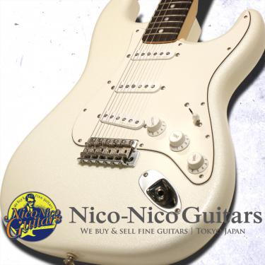 Fender Custom Shop 2012 MBS '66 Stratocaster NOS Mster Built by Dennis Galuszka (Sparkle White)