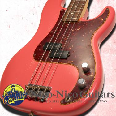 Fender Custom Shop 2015 Pino Palladino Precision Bass Relic (Fiesta Red)