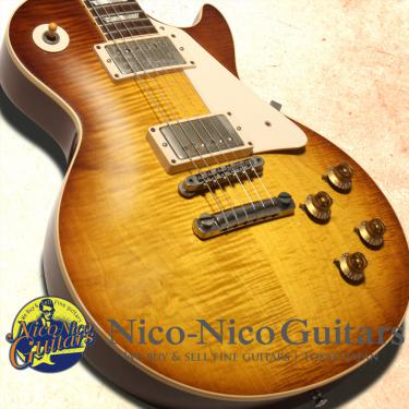 "Gibson Custom Shop 2009 Billy Gibbons ""Pearly Gates"" 1959 Les Paul VOS (Heritage Cherry Sunburst)"