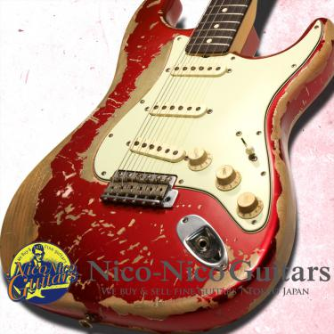 Fender Custom Shop 2013 Masterbuilt '64 Stratocaster Heavy Relic by Jason Smith (Candy Apple Red)