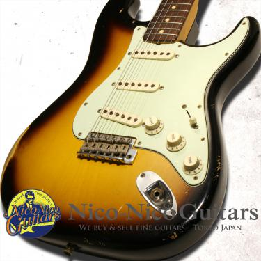 Fender Custom Shop 2014 Master Design '63 Stratocaster Relic by John Cruz (Sunburst)