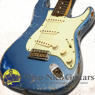 Fender Custom Shop 2011 '62 Stratocaster Heavy Relic (Lake Placid Blue)