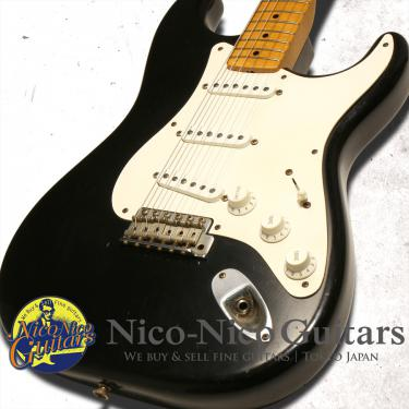 Fender Custom Shop 2002 MBS '58 Stratocaster Relic Master Built by John English (Black)