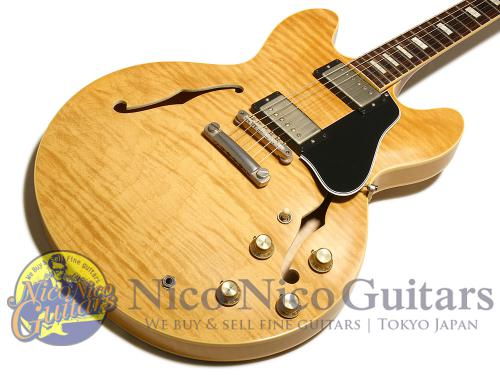 Gibson Memphis 2016 '63 ES-335 Figured VOS (Vintage Natural)