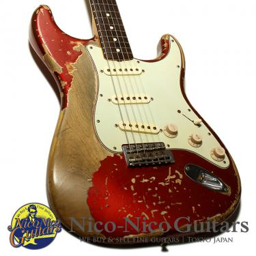Fender Custom Shop 2011 MBS 1964 Stratocaster Heavy Relic Master Built by Jason Smith (Candy Apple Red)