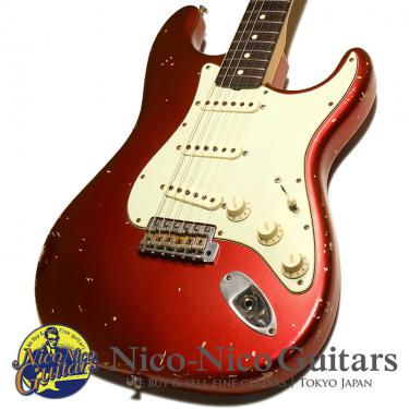 Fender Custom Shop 2012 MBS 1960 Stratocaster Relic Master Built by Paul Waller (Candy Apple Red/MH)