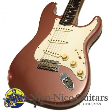 Fender Custom Shop 1997 1960 Stratocaster Relic Cunnetto (Burgundy Mist Metallic)