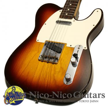 Fender Custom Shop 2015 1959 Telecaster Journeyman Relic (Chocolate Sunburst)