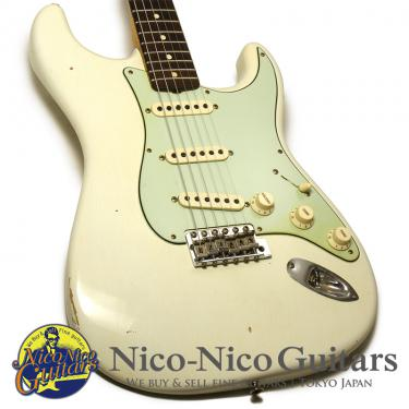 Fender Custom Shop 2019 Limited 1959 Special Stratocaster Journeyman Relic (Aged Olympic White)
