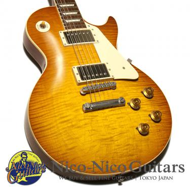 Gibson Custom Shop 2016 Standard Historic 1959 Les Paul Reissue Gloss (Iced Tea Sunburst)
