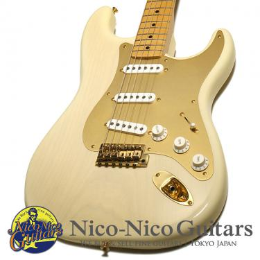 Fender Custom Shop 2002 MBS 1954 Stratocaster NOS Mary Kaye Master Built by Todd Krause (White Blonde/GH)