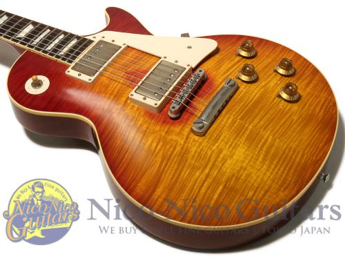Gibson Custom Shop 2014 Southern Rock Tribute 1959 Les Paul Signed Aged (Reverse Burst)