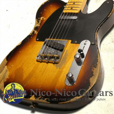Fender Custom Shop 2017 '52 Telecaster Heavy Relic (Sunburst)