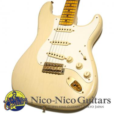 Fender Custom Shop 2015 20th Anniversary Relic Stratocaster (White Blonde)