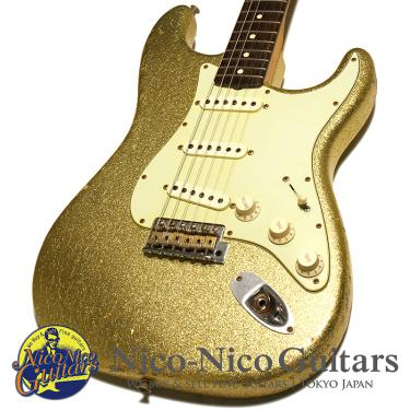 Fender Custom Shop 2012 1960 Stratocaster Heavy Relic (Gold Sparkle)