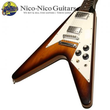 Gibson Custom Shop 2012 70s Flying V Dot VOS (Sunburst)