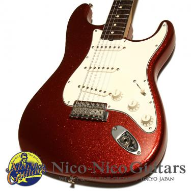 Fender Custom Shop 2008 MBS 1961 Stratocaster NOS Master Built by John Cruz (Red Sparkle)