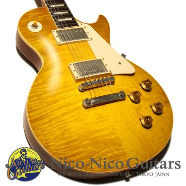 Gibson Custom Shop 2013 Historic Collection 1958 Les Paul VOS (Green Lemon)