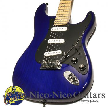Fender Custom Shop 2008 MBS Custom Stratocaster NOS by Todd Krause Mod (Trans Blue)