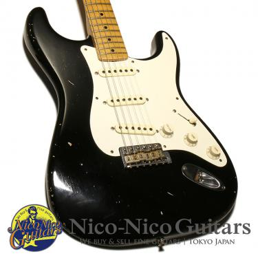 Fender Custom Shop 2013 MBS 1956 Stratocaster Relic Master Built by Todd Krause (Black)