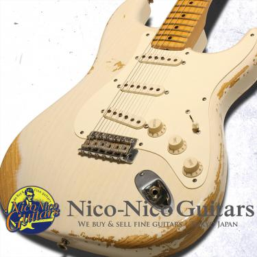 Fender Custom Shop 2009 TB '57 Stratocaster Heavy Relic (White Blonde)