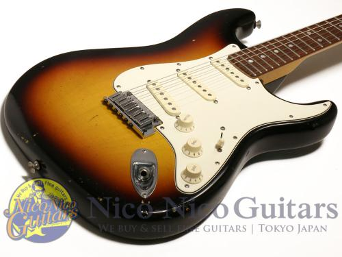 Fender Custom Shop 2007 Masterbuilt Custom Stratocaster Relic by Todd Krause (Sunburst)