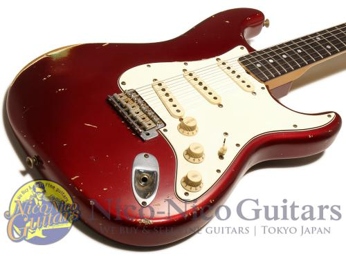 Fender Custom Shop 2007 Masterbuilt '64 Stratocaster Relic by John Cruz (Candy Apple Red/MH)
