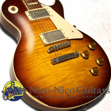 Gibson Custom Shop 2014 Historic 1959 Les Paul Aged Hand Selected (Bourbon Burst)