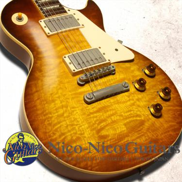 Gibson Custom Shop 1998 Historic 1958 Les Paul Murphy Aged Guitar Preservation (Iced Tea Burst)