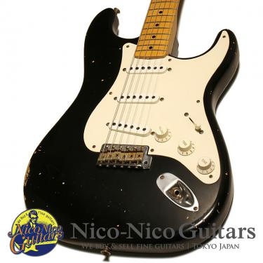 Fender Custom Shop 2012 MBS 1957 Stratocaster Relic Master Built by Paul Waller (Black)