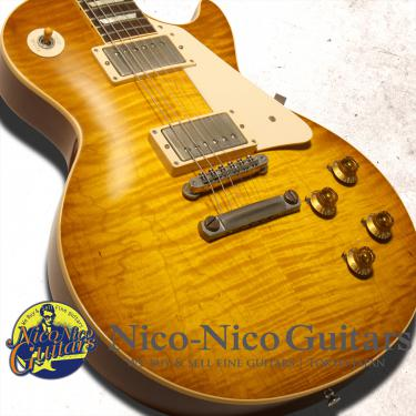 Gibson Custom Shop 2012 Historic 1959 Les Paul VOS (Green Lemon)