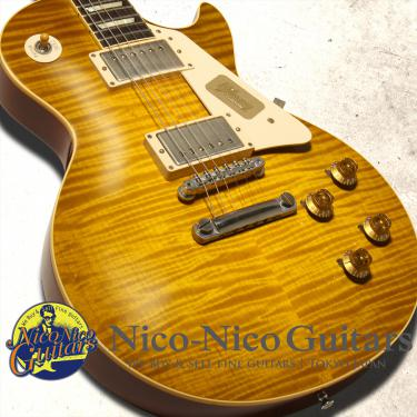 Gibson Custom Shop 2013 Historic 1959 Les Paul VOS (Green Lemon)
