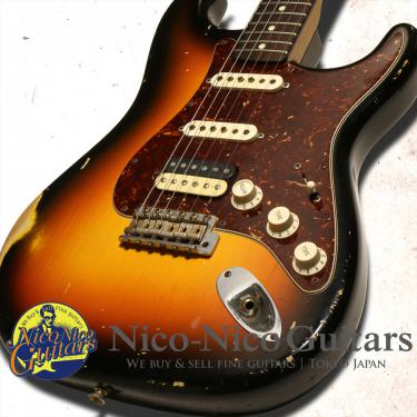 Fender Custom Shop 2007 MBS Builder Select '61 Stratocaster Relic Master Built by John Cruz (Sunburst)