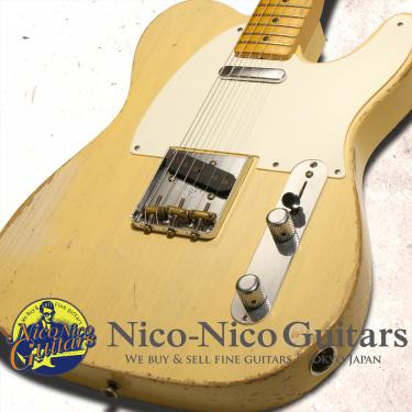 Fender Custom Shop 2015 MBS '55 Telecaster Heavy Relic Masterbuilt by Todd Krause (Aged White Blonde)