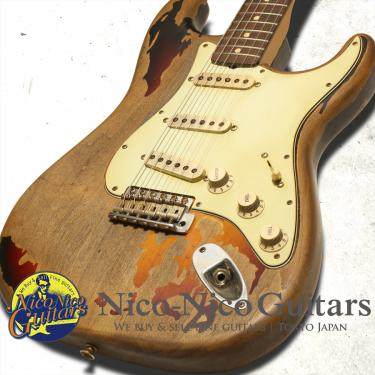Fender Custom Shop 2008 Rory Gallagher Stratocaster (Sunburst)