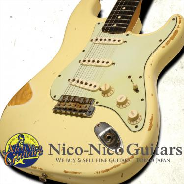 Fender Custom Shop 2007 '62 Stratocaster Relic NAMM Show Limited Edition (Olympic White)