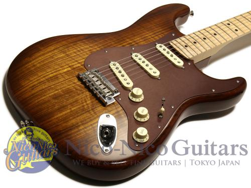 Fender USA 2017 Limited Edition Shedua Top Stratocaster (Natural)