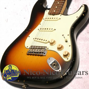 Fender Custom Shop 2014 MBS 1959 Stratocaster Relic Master Built by Jason Smith (Sunburst)
