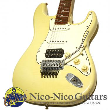 Fender Custom Shop 1999 Relic Floyd Stratocaster HSS Cunetto/Cruz (Olympic White/Rosewood)