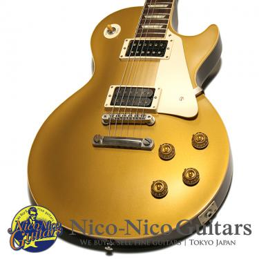 Gibson Custom Shop 2012 Historic 1957 Les Paul Dark Back VOS (Gold Top)