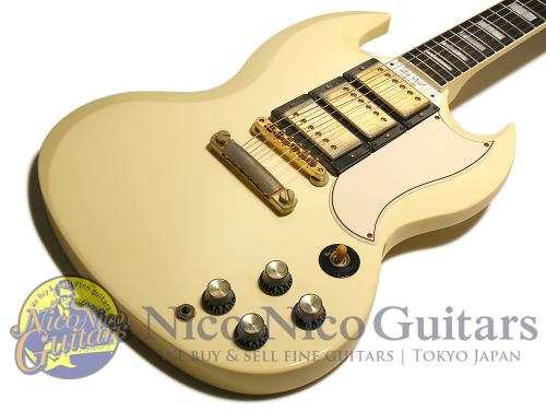 Gibson Custom Shop 2007 Historic SG Custom VOS (White)