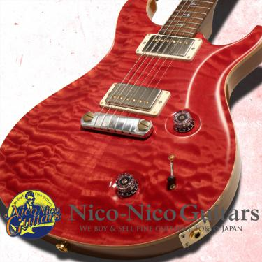 PRS 2013 Wood Library Custom22 Artist Grade Quilted Maple Brazilian Rosewood Fingerboard & Rosewood Neck (Ruby)