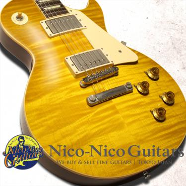 Gibson Custom Shop 2016 True Historic 1958 Les Paul Figured Vintage Gloss (Lemon Drop)