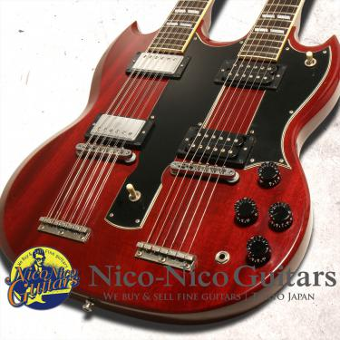 Gibson Custom Shop Jimmy Page EDS-1275 Double Neck VOS (Cherry)