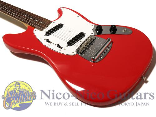 Fender Japan 2009 MG69 (Red/MH)