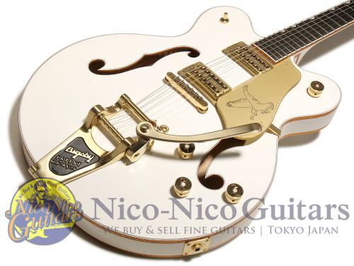 Gretsch 2017 G6636T Players Edition White Falcon (White)