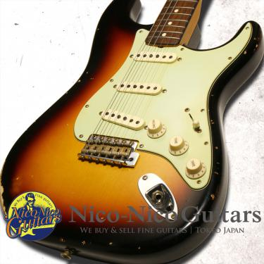 Fender Custom Shop 2017 Limited Edition '63 Stratocaster Relic (Sunburst)