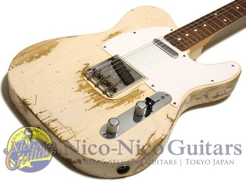 Fender Custom Shop 2013 TB '59 Telecaster Heavy Relic (White Blonde)