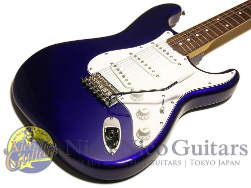 Fender 2015 Japan Exclusive Series Classic 60s Stratocaster Texas Special (Jupiter Blue)