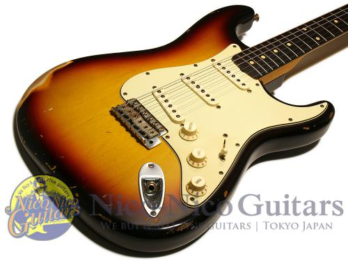 Fender Custom Shop 2001 '60 Stratocaster Relic (Sunburst)